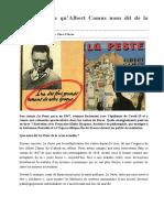 Épidémie ce qu'Albert Camus nous dit de la crise actuelle-2 Александър 12г