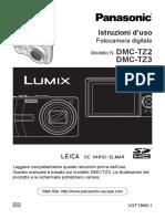 Manuale Panasonic DMC-TZ2