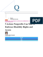 DISABILITY INCLUSION