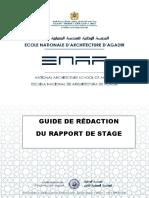 Guide de rédaction du rapport de stage ENAA