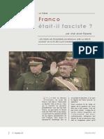 Franco était-il fasciste ?