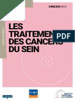 Les Traitements Des Cancers Du Sein V3 2016