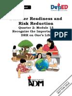 DRRR Module 15
