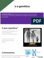 Aula 04 - Introdução a Genética - Ciências - 9 Ano