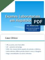 exames hepatologia