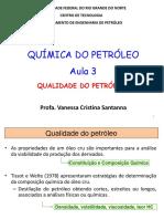 aula 3 qualidade do petróleo UFRN