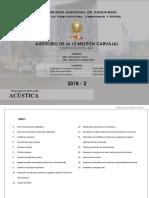 Estudio Acústico del auditorio de la I.E Melitón Carvajal