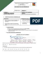 8°GUÍA 3 MULTIPLICACIÓN DE POLINOMIOS (SEMANA 3)
