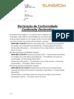 declaração-conformidade-normas-nbr SUNGROW