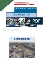 DOSIFICACION - TECNOLOGIA DE MATERIALES