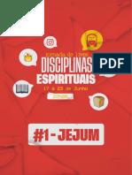 DISCIPLINA ESPIRITUAL - JEJUM - #1