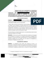 Cartas de Alfonso Fernández Mañueco a Salvador Illa y Pedro Sánchez