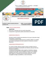 GUÍA DE SOCIALES TIPOS DE DEMOCRACIA 5° SEMANA DEL 8 AL 12