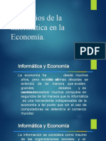 2.4 Beneficios de La Informática en La Economía.