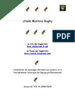 Compilation de  messages pour les joueurs du Stade Montois