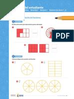 Práctica representación de fracciones