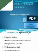 GRAVIMETRIA -