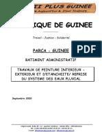 Facture Proforma Parca Guinee