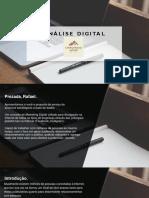 Analise Digital e Proposta Cheese House
