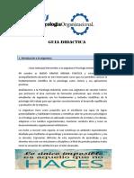 Guía Didáctica Psicologia