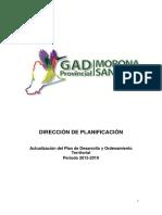 Propuesta y Modelo de Gestión Morona Santiago 2015_2019