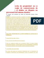 CAS Mejor Derecho de Propiedad CASO COOPERATIVA