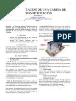 IMPLEMENTACION DE UNA CABINA DE TRANSFORMACIÓN