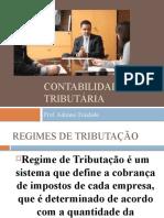AULA - REGIMES DE TRIBUTAÇÃO