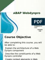 ABAP Webdynpro 4 JKT