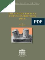2017_The South Etruscans Cippus Inscriptions - Acta IRF Vol. 44