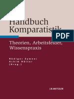 Handbuch Komparatistik Theorien, Arbeitsfelder, Wissenspraxis by Rüdiger Zymner, Achim Hölter (Eds.) (Z-lib.org)