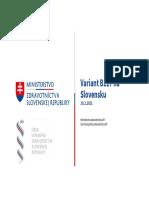 Britský variant na Slovensku