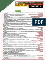 EDU430 - ICT in Education( QUIZ NO 4)