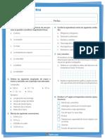 Evaluación Diagnóstica 10 Física