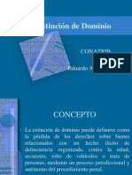 Extinción de Dominio en México