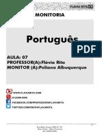 Re Sumo Portugus Aula 07
