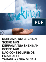 Derrama Tua Shekinah