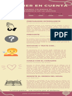 Infografía de recomendaciones para cuando celebres el Sacramento de la Unción