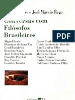 Conversas Com Filosofos Brasileiros 1