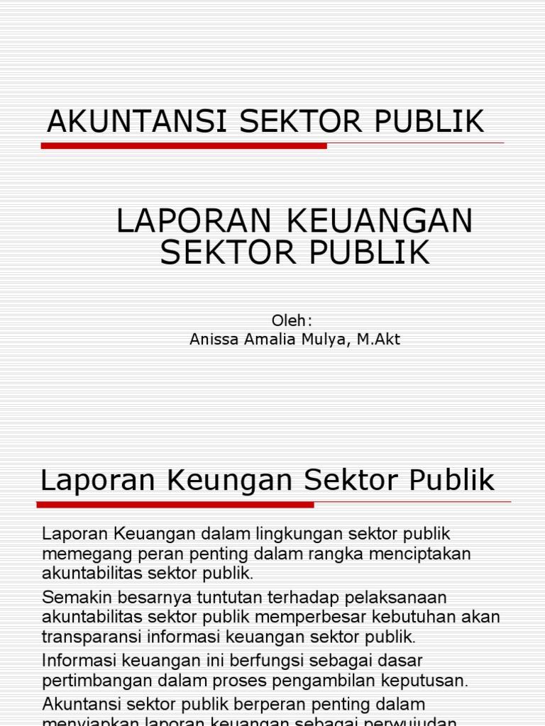 Judul Skripsi Tentang Akuntansi Sektor Publik