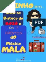 Andinho em... Show no Buteco do BOZÓ e os 7 HÁBITOS DO MÚSICO MALA - Silvio Ribeiro