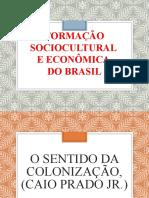 SIMP - Formação Sociocultural e Econômica Do Brasil