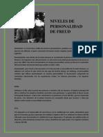 Zaragoza Díaz, Edgar Jair - NIVELES DE PERSONALIDAD DE FREUD