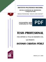 Concreto Presforzado Cabanas Perez, Antonio