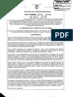 Decreto 1990 de 2016