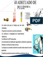 USO ADECUADO DE PULIDORA