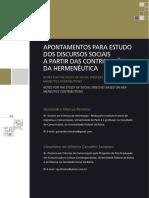 Artigo_Apontamentos para o estudo dos discursos sociais_Ferreira