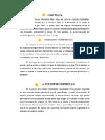 MODELOS DE COMPETENCIA
