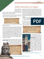Italia Cultura- Letteratura