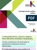 Psicología Social y Política Pública